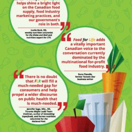"""What 3 expert-journalists say about """"Food for Life Report"""""""
